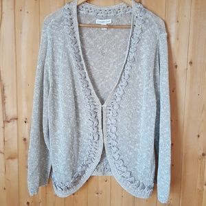 9bfdcb9c9473 Coldwater Creek Sweaters - Coldwater Creek Plus Size Cardigan